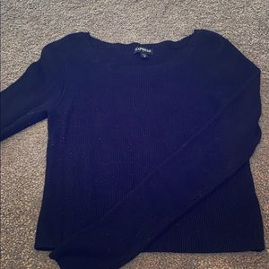 Express tight sweater can be a crop